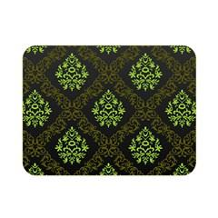 Leaf Green Double Sided Flano Blanket (mini)
