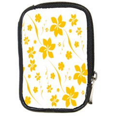 Shamrock Yellow Star Flower Floral Star Compact Camera Cases by Mariart