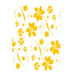 Shamrock Yellow Star Flower Floral Star 5 5  X 8 5  Notebooks by Mariart