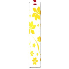 Shamrock Yellow Star Flower Floral Star Large Book Marks by Mariart