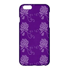 Purple Flower Rose Sunflower Apple Iphone 6 Plus/6s Plus Hardshell Case by Mariart