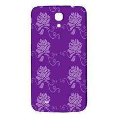 Purple Flower Rose Sunflower Samsung Galaxy Mega I9200 Hardshell Back Case by Mariart