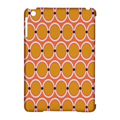 Orange Circle Polka Apple Ipad Mini Hardshell Case (compatible With Smart Cover) by Mariart