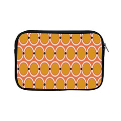 Orange Circle Polka Apple Ipad Mini Zipper Cases by Mariart
