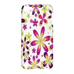 Star Flower Purple Pink Apple iPod Touch 5 Hardshell Case