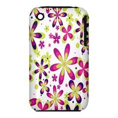 Star Flower Purple Pink iPhone 3S/3GS