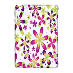 Star Flower Purple Pink Apple Ipad Mini Hardshell Case (compatible With Smart Cover) by Mariart