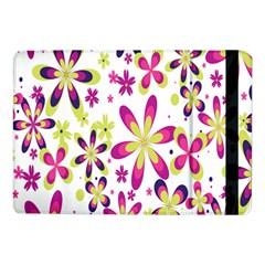 Star Flower Purple Pink Samsung Galaxy Tab Pro 10.1  Flip Case