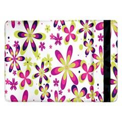 Star Flower Purple Pink Samsung Galaxy Tab Pro 12.2  Flip Case