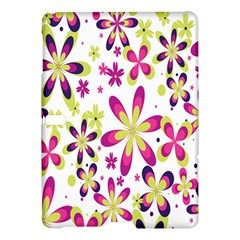 Star Flower Purple Pink Samsung Galaxy Tab S (10 5 ) Hardshell Case  by Mariart