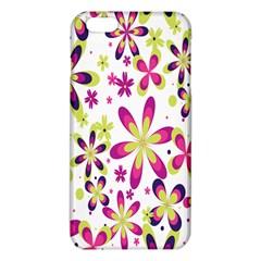 Star Flower Purple Pink iPhone 6 Plus/6S Plus TPU Case