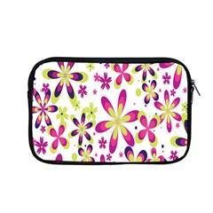 Star Flower Purple Pink Apple MacBook Pro 13  Zipper Case