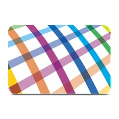 Webbing Line Color Rainbow Plate Mats by Mariart