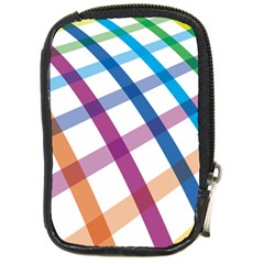 Webbing Line Color Rainbow Compact Camera Cases by Mariart