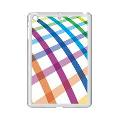 Webbing Line Color Rainbow Ipad Mini 2 Enamel Coated Cases by Mariart
