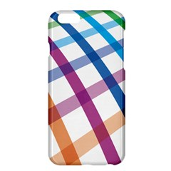 Webbing Line Color Rainbow Apple Iphone 6 Plus/6s Plus Hardshell Case by Mariart
