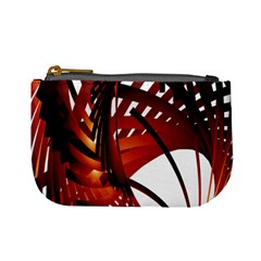Webbing Red Mini Coin Purses by Mariart