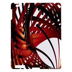 Webbing Red Apple Ipad 3/4 Hardshell Case by Mariart