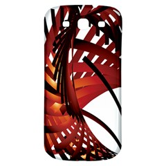 Webbing Red Samsung Galaxy S3 S Iii Classic Hardshell Back Case by Mariart