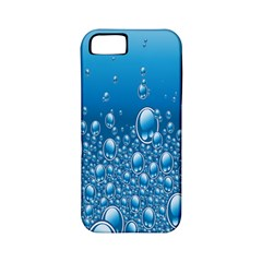 Water Bubble Blue Foam Apple Iphone 5 Classic Hardshell Case (pc+silicone) by Mariart
