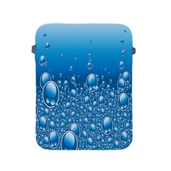 Water Bubble Blue Foam Apple Ipad 2/3/4 Protective Soft Cases by Mariart