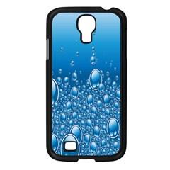Water Bubble Blue Foam Samsung Galaxy S4 I9500/ I9505 Case (black) by Mariart