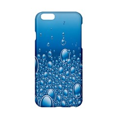 Water Bubble Blue Foam Apple Iphone 6/6s Hardshell Case by Mariart