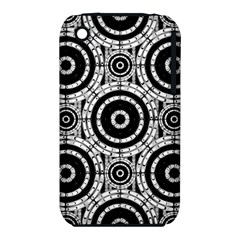 Geometric Black And White Iphone 3s/3gs by linceazul