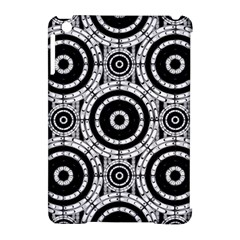 Geometric Black And White Apple Ipad Mini Hardshell Case (compatible With Smart Cover) by linceazul
