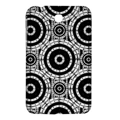 Geometric Black And White Samsung Galaxy Tab 3 (7 ) P3200 Hardshell Case  by linceazul