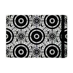 Geometric Black And White Ipad Mini 2 Flip Cases by linceazul