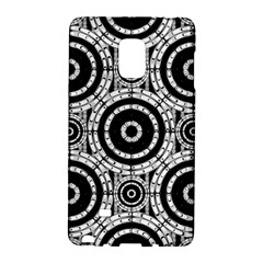 Geometric Black And White Galaxy Note Edge by linceazul