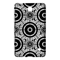 Geometric Black And White Samsung Galaxy Tab 4 (8 ) Hardshell Case  by linceazul