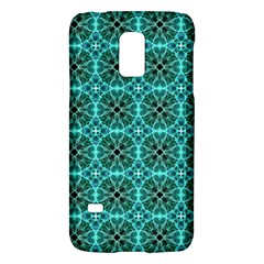 Turquoise Damask Pattern Galaxy S5 Mini by linceazul