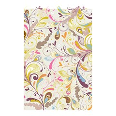 Colorful Seamless Floral Background Shower Curtain 48  X 72  (small)  by TastefulDesigns