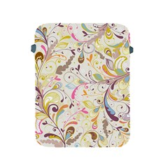 Colorful Seamless Floral Background Apple Ipad 2/3/4 Protective Soft Cases by TastefulDesigns