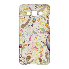 Colorful Seamless Floral Background Samsung Galaxy A5 Hardshell Case  by TastefulDesigns