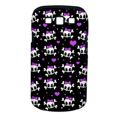 Cute Skull Samsung Galaxy S Iii Classic Hardshell Case (pc+silicone) by Valentinaart