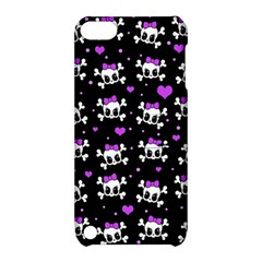 Cute Skull Apple Ipod Touch 5 Hardshell Case With Stand
