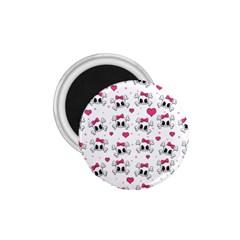 Cute Skull 1 75  Magnets by Valentinaart
