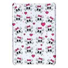Cute Skull Apple Ipad Mini Hardshell Case by Valentinaart