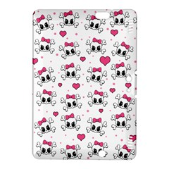 Cute Skull Kindle Fire Hdx 8 9  Hardshell Case by Valentinaart