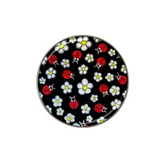 Sixties Flashback Hat Clip Ball Marker (4 Pack) by dawnsiegler