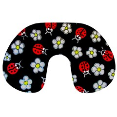 Sixties Flashback Travel Neck Pillows by dawnsiegler
