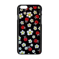 Sixties Flashback Apple Iphone 6/6s Black Enamel Case by dawnsiegler