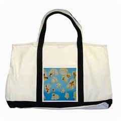 Air Popped Two Tone Tote Bag by dawnsiegler