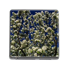 Floral Skies Memory Card Reader (square) by dawnsiegler