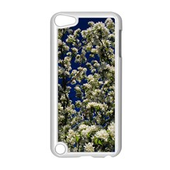 Floral Skies Apple Ipod Touch 5 Case (white) by dawnsiegler