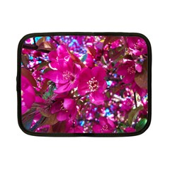 Pretty In Fuchsia 2 Netbook Case (small)  by dawnsiegler