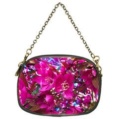 Pretty In Fuchsia 2 Chain Purses (one Side)  by dawnsiegler